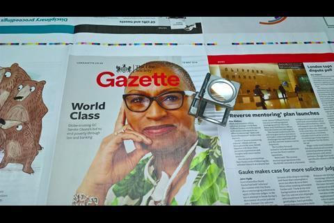 Law Gazette redesign